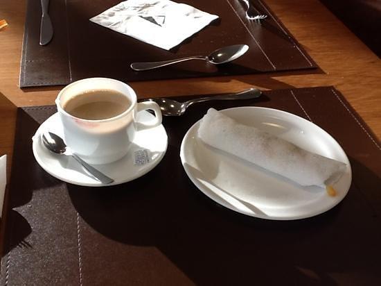 Hotel Luzeiros Sao Luis: Cafe da Manha Diferenciado.