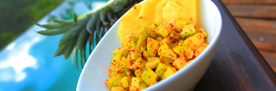 Matugama, Sri Lanka: Pineapple Mix