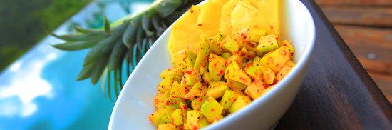 Matugama, سريلانكا: Pineapple Mix