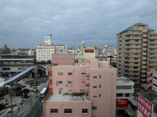 Station Hotel Makishi: 7 11階からの眺め