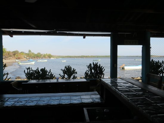 The Lazy Turtle: View from restaurant