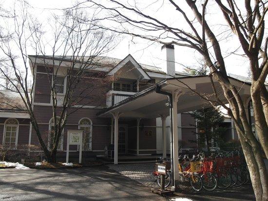 Kyu-karuizawa Hotel Otowano-mori: 正面入り口です