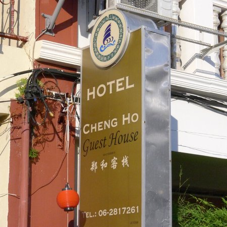 Cheng Ho Guest House sign