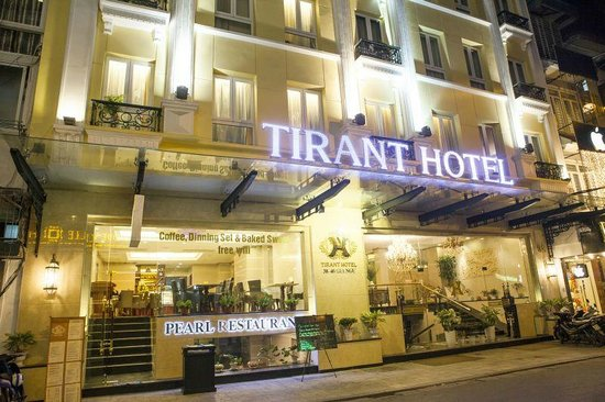 Hanoi Tirant Hotel: Hotel's exterior