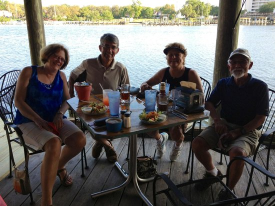 Great friends, great time at Bayou Joe's!