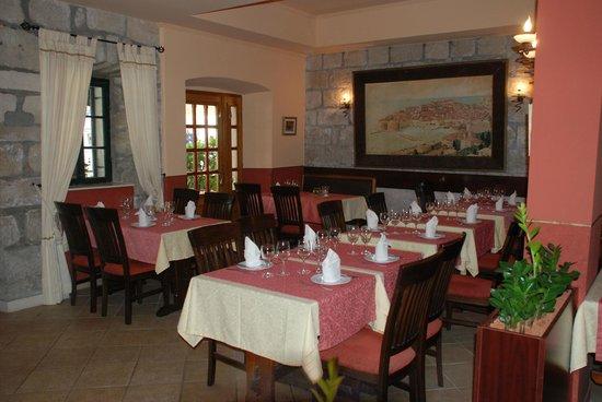 Villa Pattiera: Restaurant Dalmacija