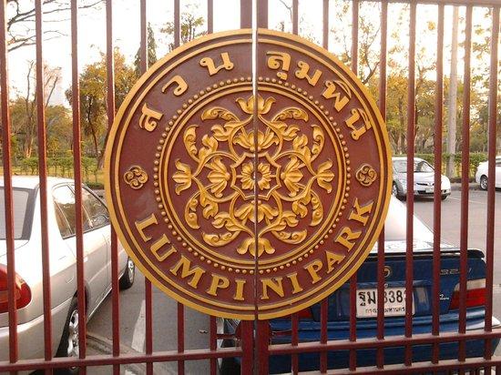 Image result for lumpini park entrance