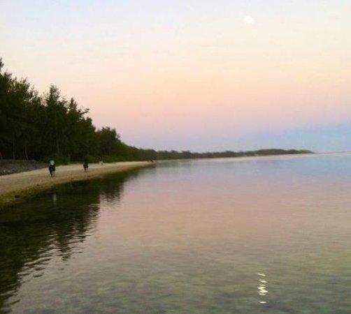 Centre Equestre De Riambel: Moon rise and sun setting: find the full moon!