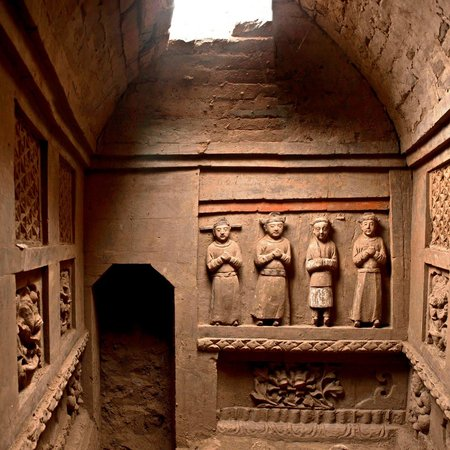 Brick Tomb in Macun County