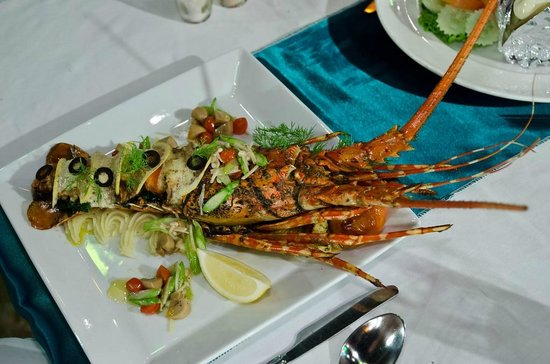 Koh Chang Paradise Resort & Spa: Lobster made on request