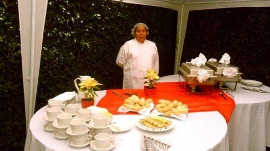 Hotel Casa Blanca Inn: Jardin para eventos