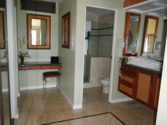 The Kapalua Villas, Maui: Bathroom area in master