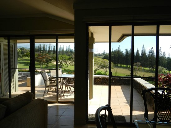 The Kapalua Villas, Maui: windows and lanai, view