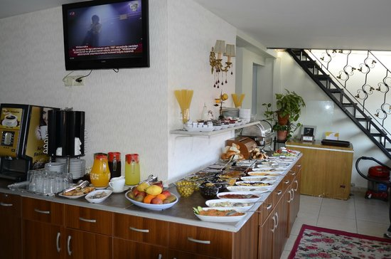 Asmali Hotel: La colazione