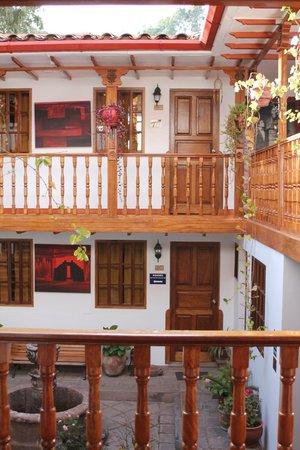 Hotel Rumi Punku: Courtyard