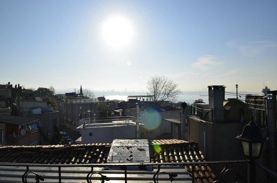 Asmali Hotel : Veduta dalla terrazza