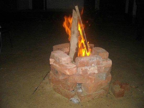 Tajpur Palm Village Resort: Campfire