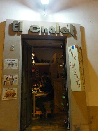 El Chalet Frances : Outside view