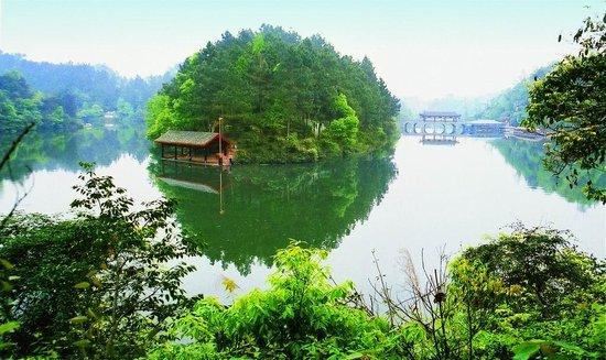 Qionglai Zhuxi Lake