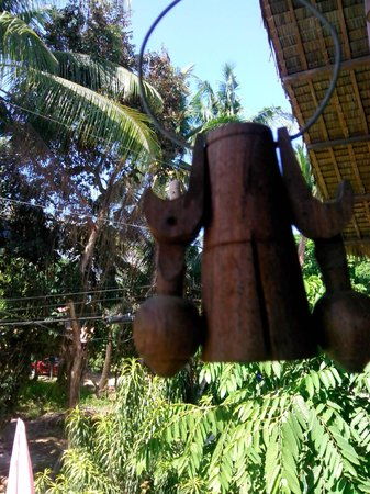 Regidor Bed and Breakfast: Lovely sound this chime makes