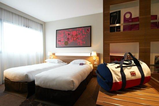 Mercure Cholet Centre Hotel : Chambre twin