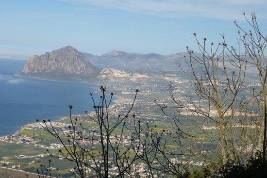 Al frantoio Valderice: vue depuis Erice