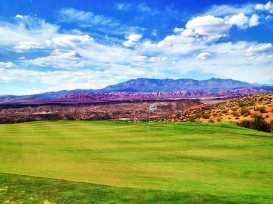 Sand Hollow Golf Course: #11 green