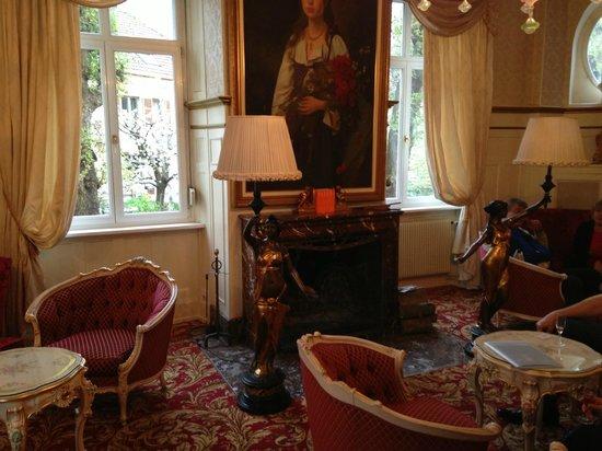 Romantik Hotel Du Parc : Lobby