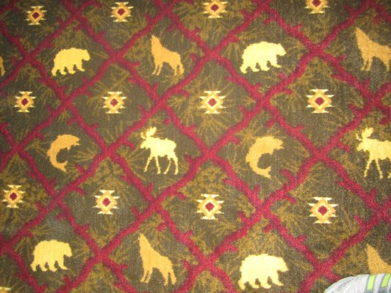 BEST WESTERN King Salmon Motel: Hunting Theme Charm - Room Rug