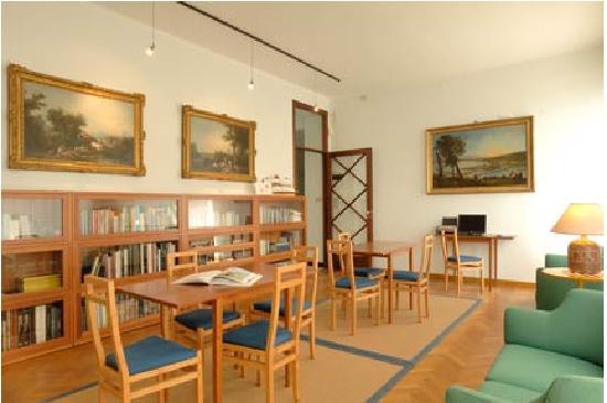 Hotel Beau Sejour: Sala lettura