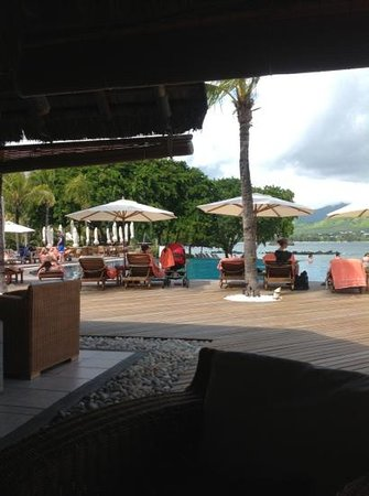 Sands Suites Resort & Spa: view from Dolphin bar -our favourite place