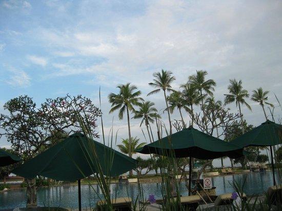 The Patra Bali Resort & Villas: レストランからの眺め