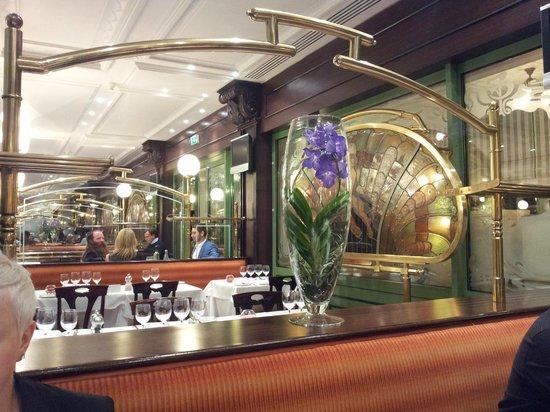 Brasserie du Cafe de Paris Monte-Carlo : ART DECO PANELS