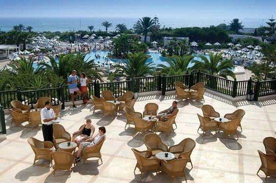Vincci El Mansour : la terrasse du Lobi Bar