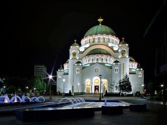 Hram Svetog Save Na Slici Je Hram Svetog Save Beograd Tripadvisor
