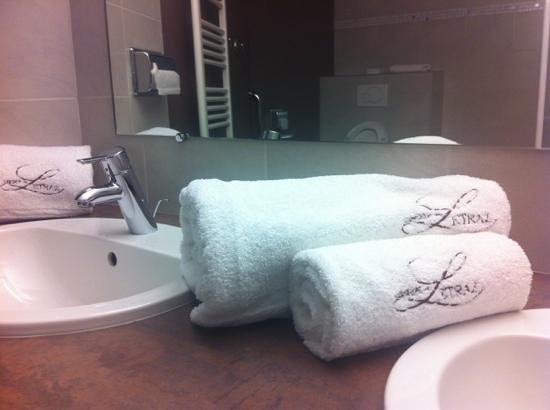 Auberge de Letraz: salle de bain