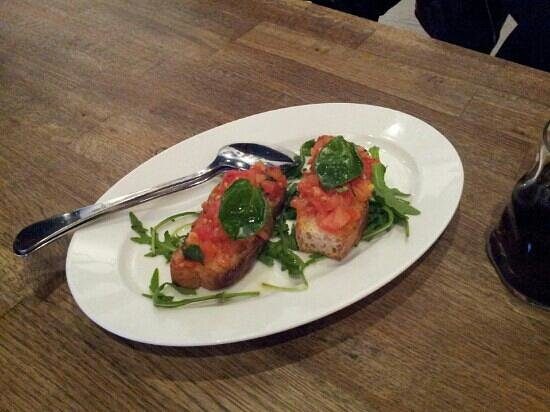 That's Amore: Bruschetta starter