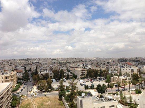 Sheraton Amman Al Nabil Hotel: View from the terrace.