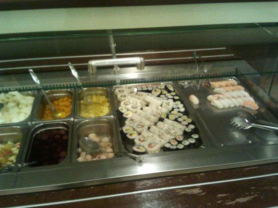 Wok Sushi Dynasty: sushi e dolci