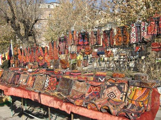 Vernissage Market Yerevan Armenia Hours Address