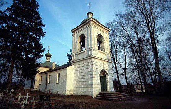 St Paraskeva's Orthodox Church in Saatse