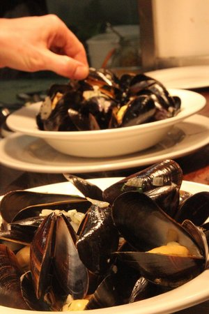 The Canteen: mussels and west country cider cream?
