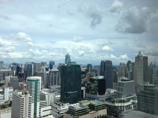 Centara Grand at CentralWorld: View from room 4012