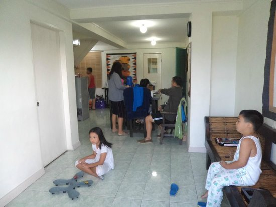 Baguio Vacation Apartments: living room / dining room