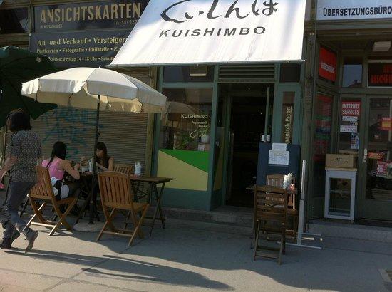 Kuishimbo: winziges Restaurant, kann man leicht übersehen