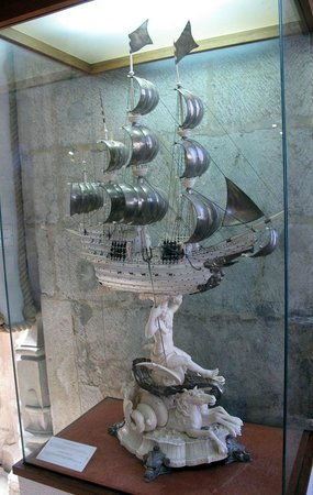 The Silver And Ivory Ship I Wanted To Take Home Picture