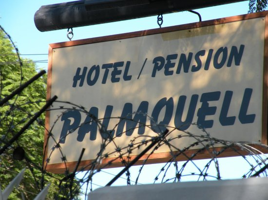 Hotel Pension Palmquell: Eingang zur Relax Oase