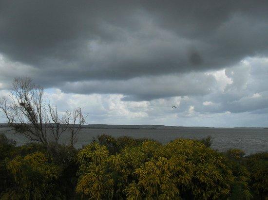 Summertime: camera vista stagno di Cabras (con maltempo ;( )