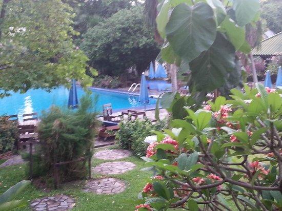 Garden Lodge : Wie in einem Park
