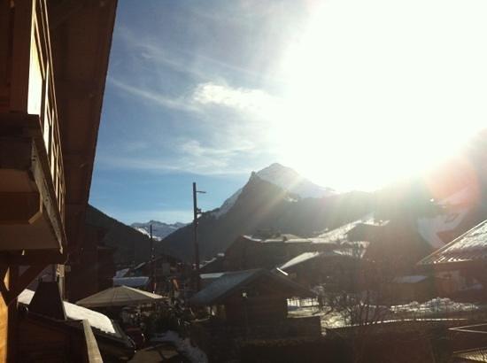 Ski & Summer Morzine - Chalet BonBon: view from the back balcony
